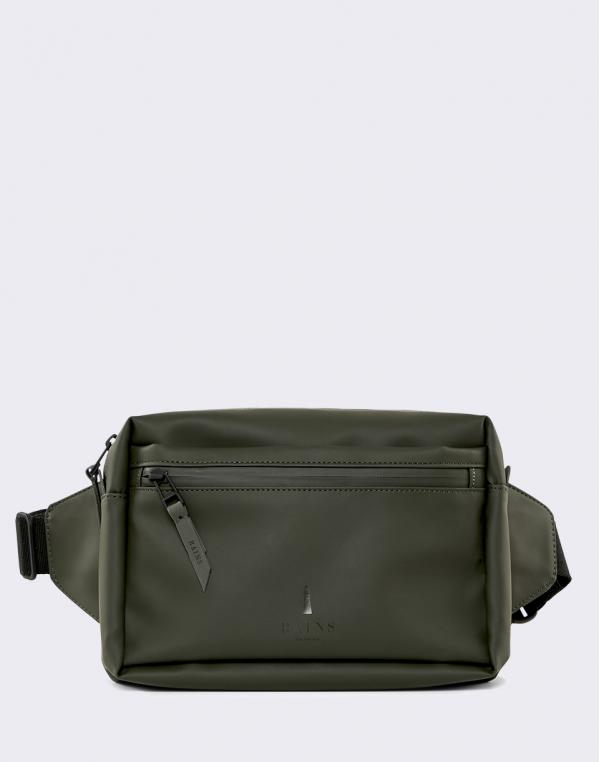 Rains Waist Bag 03 Green
