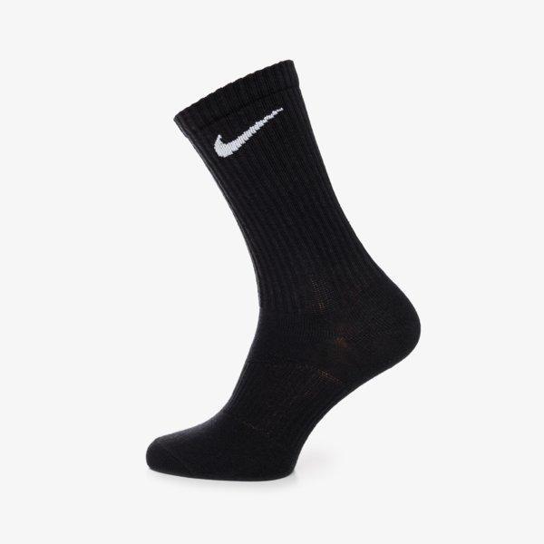 Nike 3Ppk Crew Black Černá EUR S