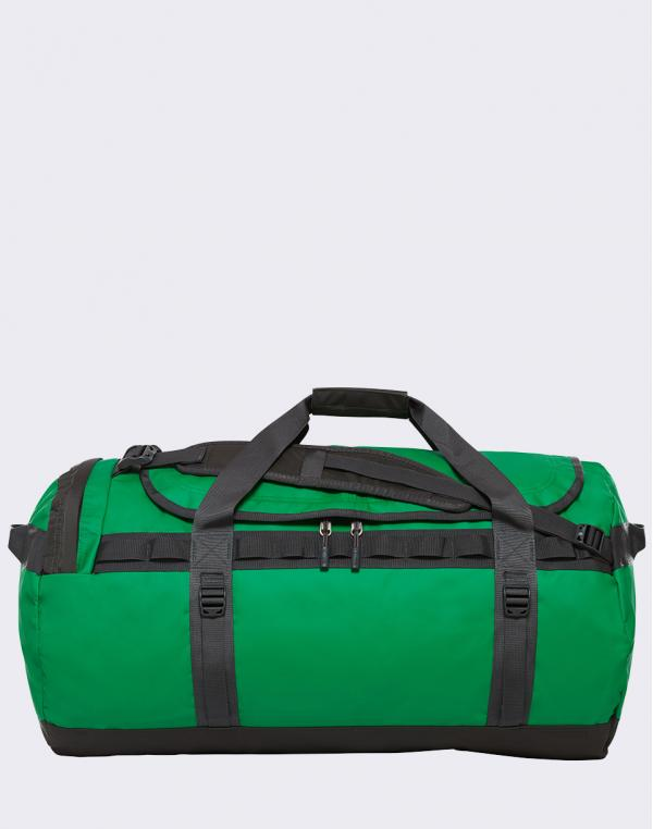 The North Face Base Camp Duffel L Primary Green/ Asphalt Grey