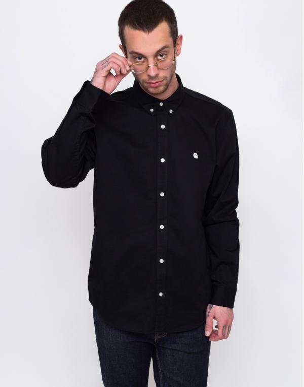 Carhartt WIP L/S Madison Shirt Black/Wax L