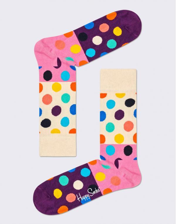 Happy Socks Big Dot Block BDB01-0100 36-40