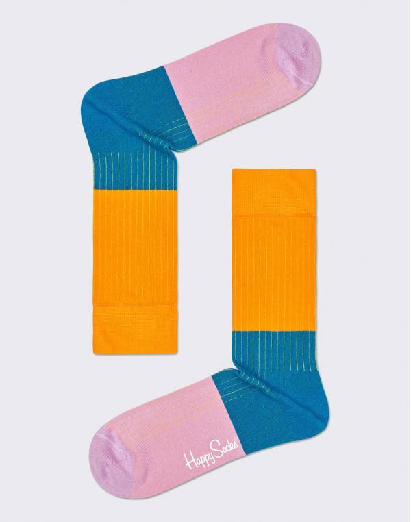 Happy Socks Block Rib BLR01-7300 36-40