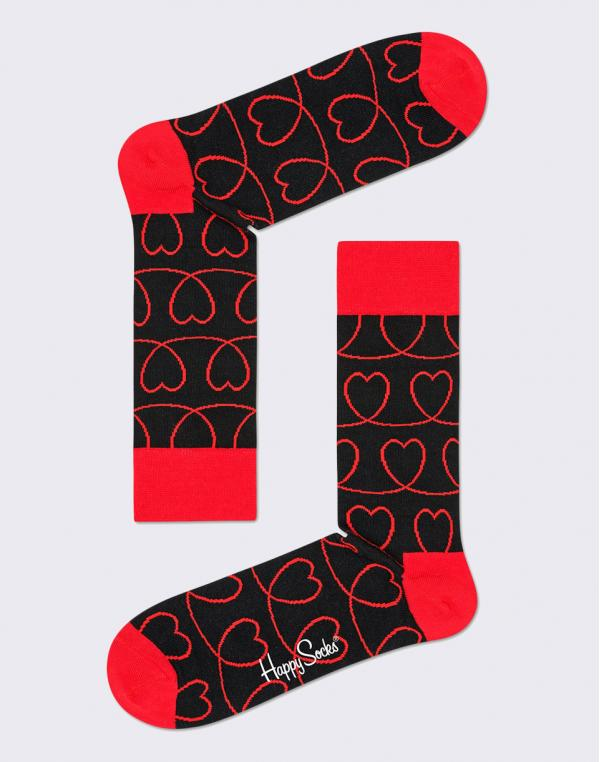 Happy Socks Loveline LLI01-9000 36-40