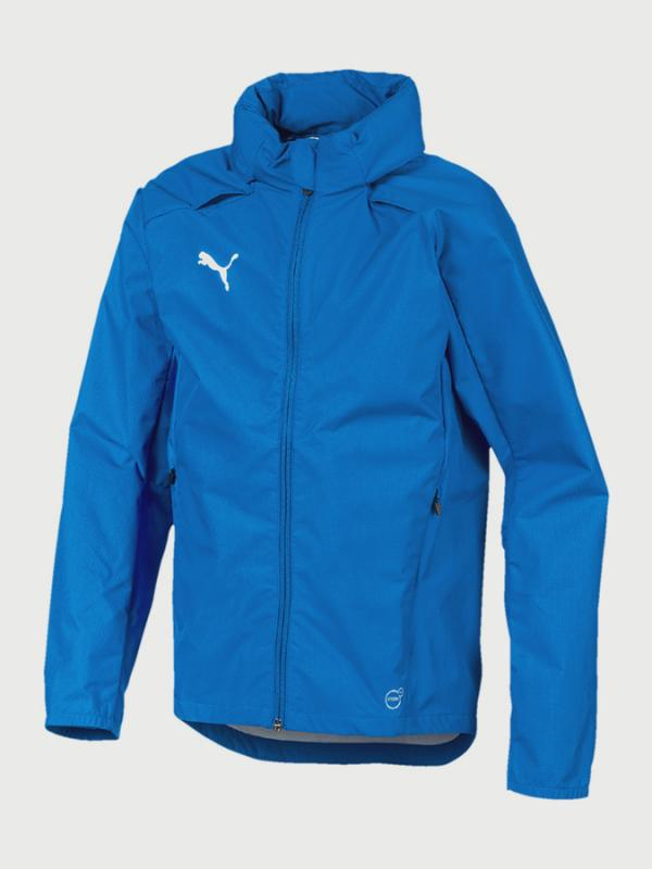 Bunda Puma LIGA Training Rain Jacket Jr Modrá
