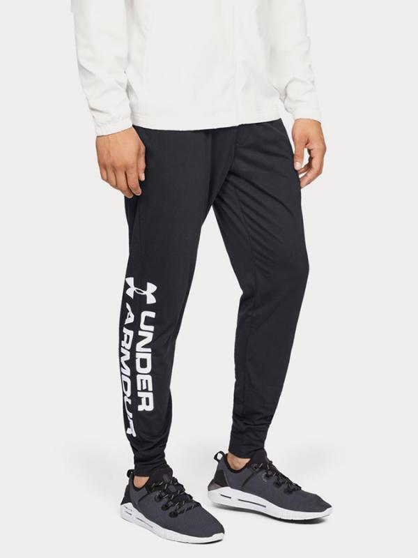 Tepláky Under Armour Sportstyle Cotton Graphic Jogger Černá