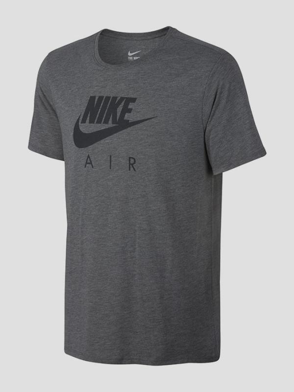 Tričko Nike TEE-AIR HYBRID TOTEM Šedá
