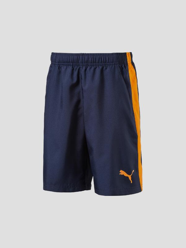 Kraťasy Puma ACTIVE ESS Woven Shorts Peacoa Modrá