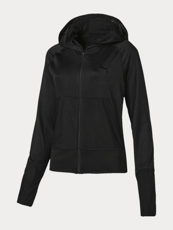 Bunda Puma Knockout Jacket Black Heather Černá