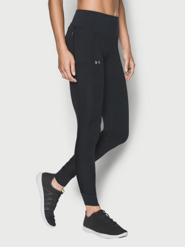 Legíny Under Armour Coldgear No Breaks Run Legging Černá