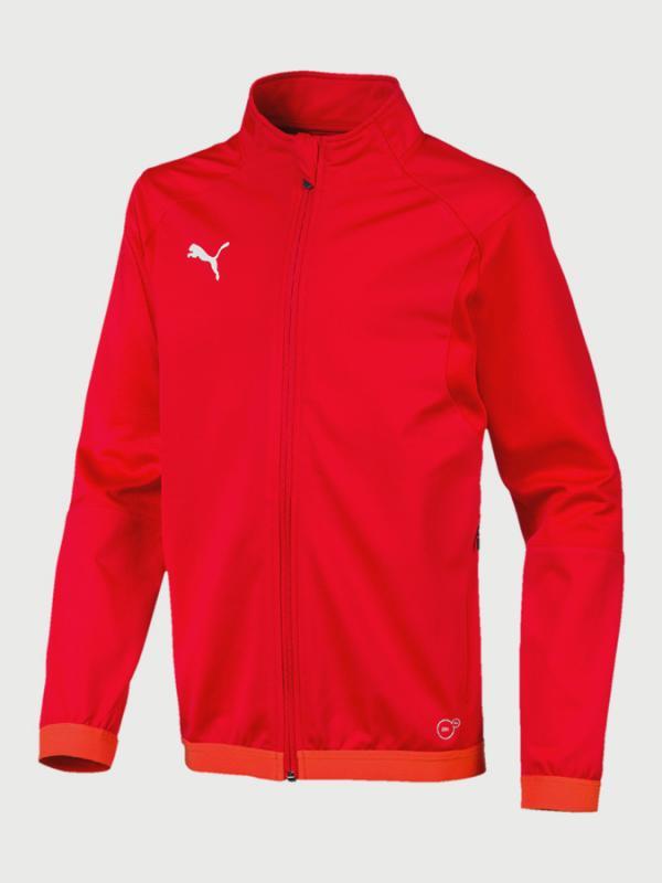 Mikina Puma LIGA Training Jacket Jr Červená