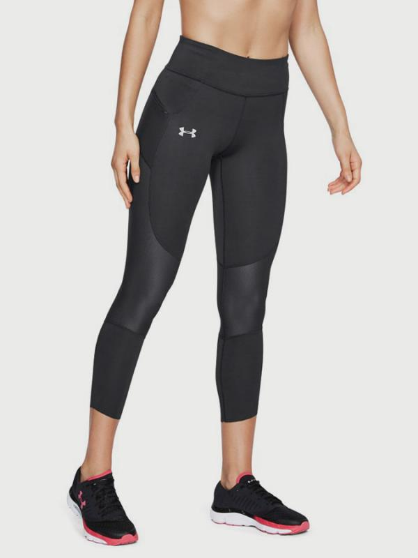 Kompresní legíny Under Armour SpeedPocket Run Crop Černá