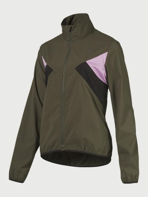 Bunda Puma Ignite Wind Jacket W Zelená