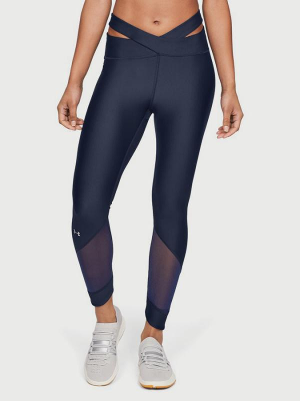 Kompresní legíny Under Armour HG Fashion Ankle Crop 11/1 Modrá