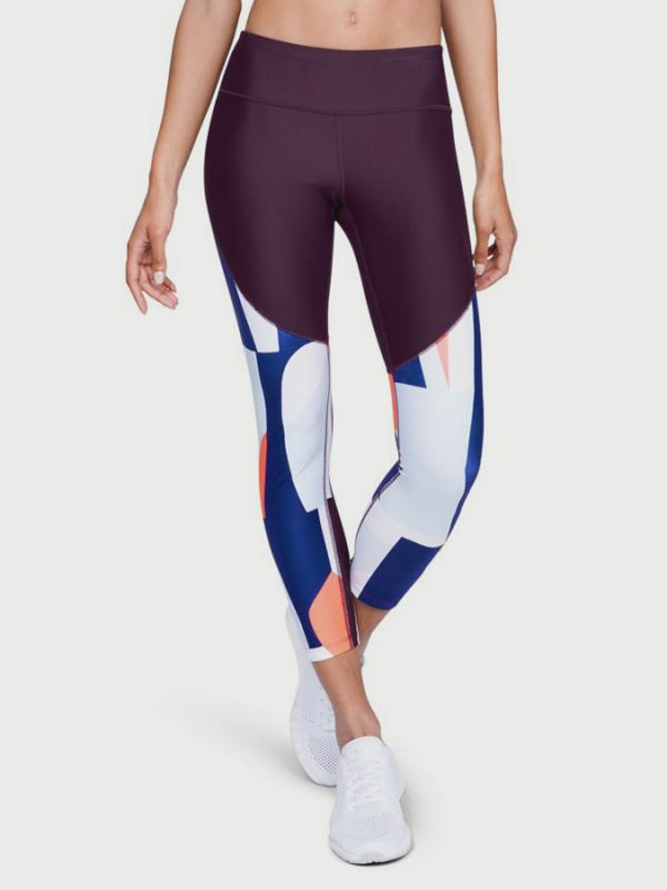 Kompresní legíny Under Armour Balance Printed Crop Barevná