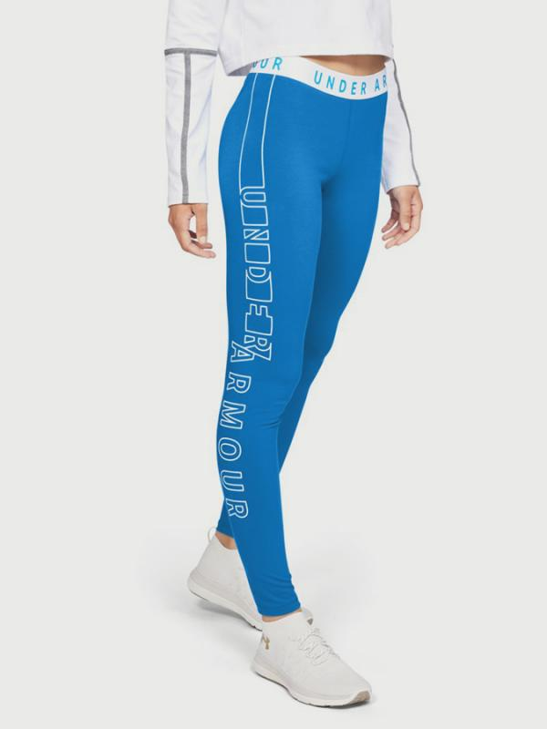 Legíny Under Armour Favorite Graphic Legging- Wm Modrá