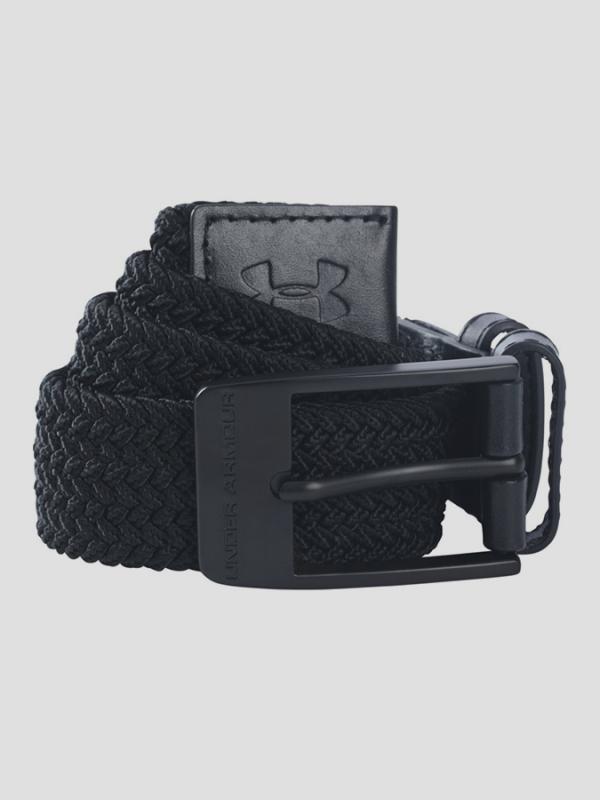 Pásek Under Armour Braided Belt Černá
