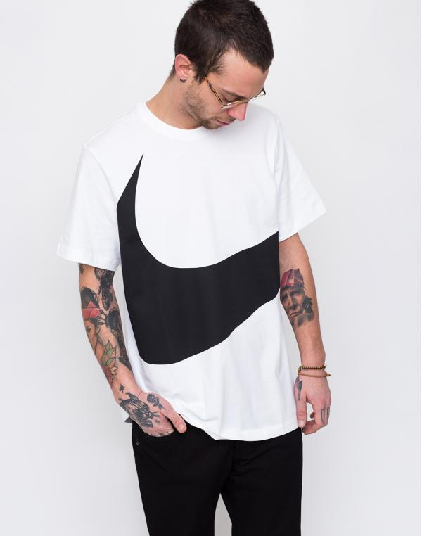 Nike Sportswear Swoosh White/Black L
