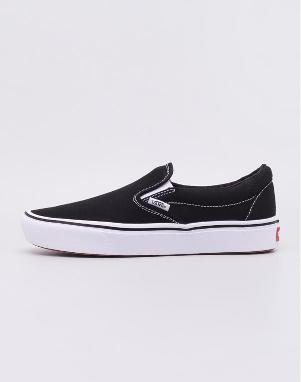 Vans ComfyCush Slip-On Black/ True White 36