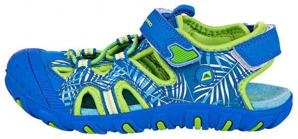 ALPINE PRO CARNEO MODRÁ / TYRKYSOVĚ MODRÁ Dětská letní obuv 24