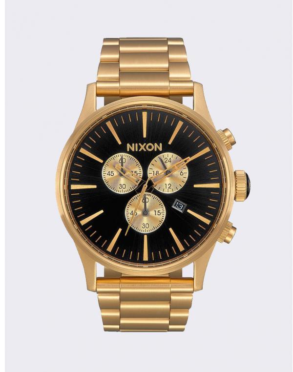 Nixon Sentry Chrono All Gold/ Black