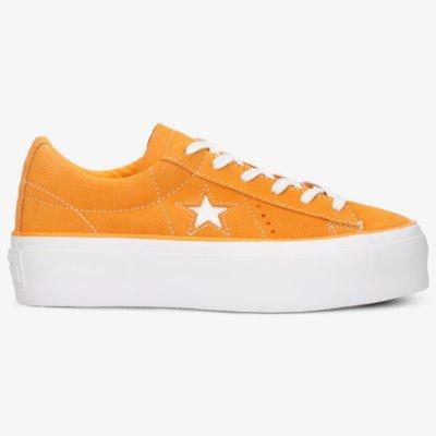 Converse One Star Platform Oranžová EUR 38