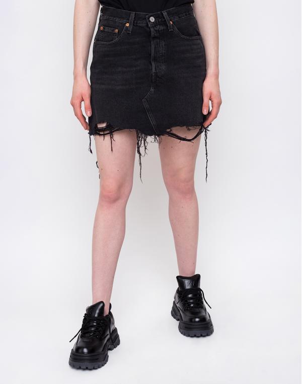 Levi´s® Deconstructed Skirt Black 26