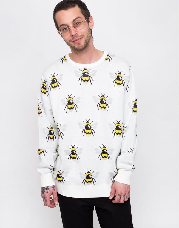 Dedicated Sweater Mora Bumblebees Off-White L