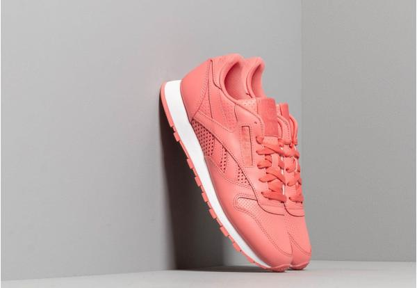 Reebok Classic Leather W Rose/ White