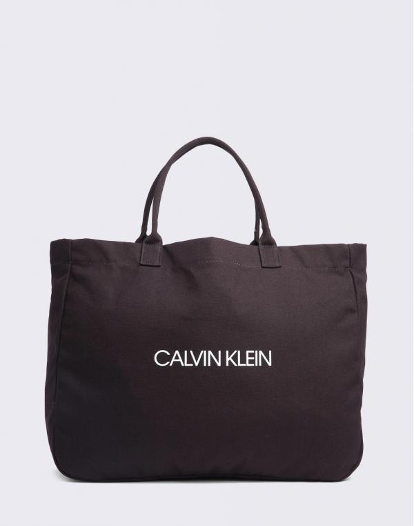 Calvin Klein Beach Bag Black
