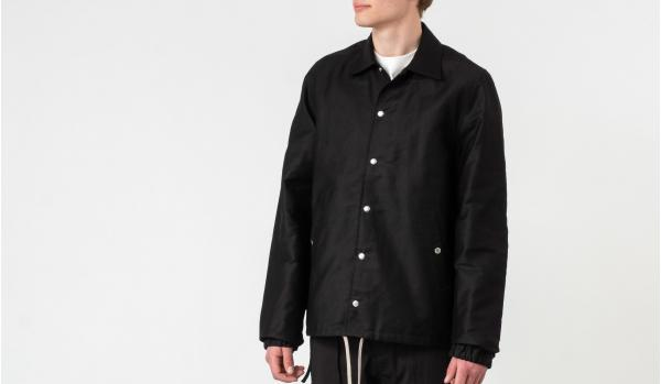 Rick Owens DRKSHDW Snap Front Jacket Black