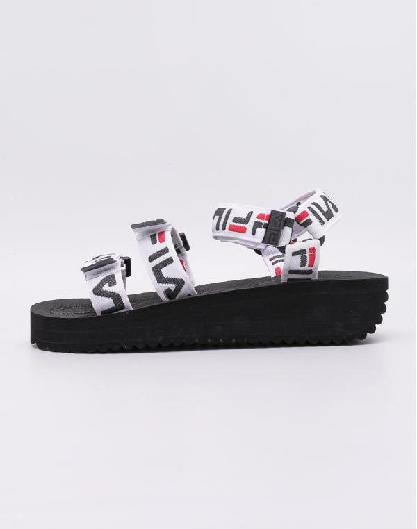 Fila Tomaia Logo Sandal Black 37