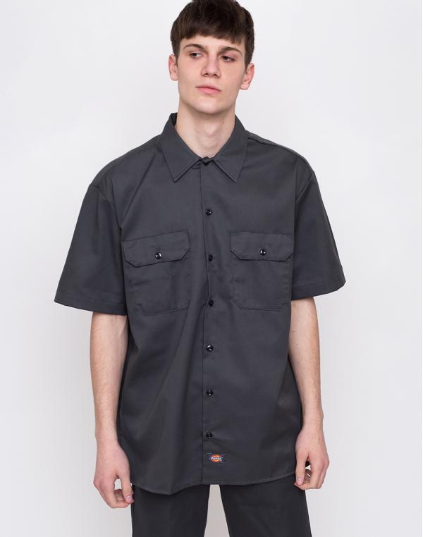 Dickies Work Shirt Charcoal Grey M