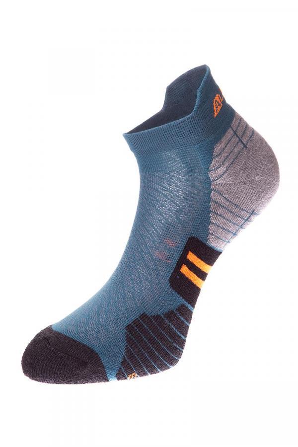 ALPINE PRO DONO ZELENÁ / TYRKYSOVĚ ZELENÁ Dětské Ponožky L