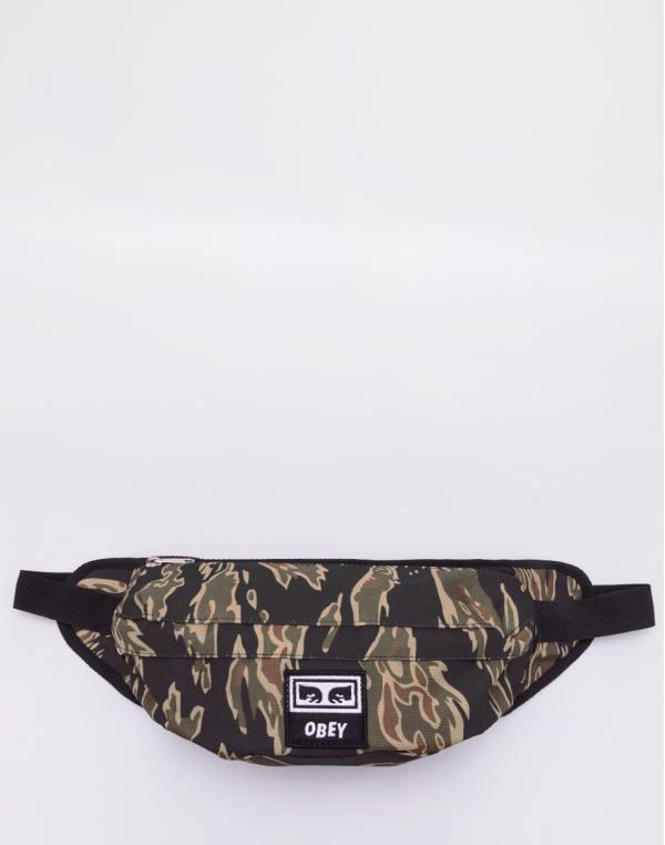 Obey Drop Out Sling Pack Tiger Camo