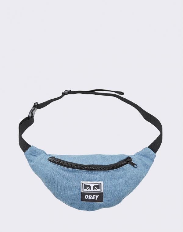 Obey Wasted Hip Bag Denim