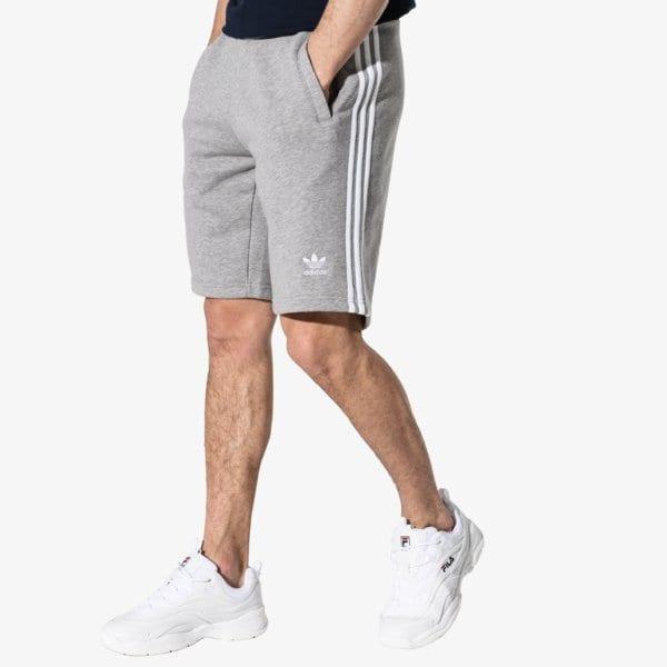 12ac6e1c1 Adidas 3-Stripe Short Adicolor Šedá EUR S   SwagWear.cz