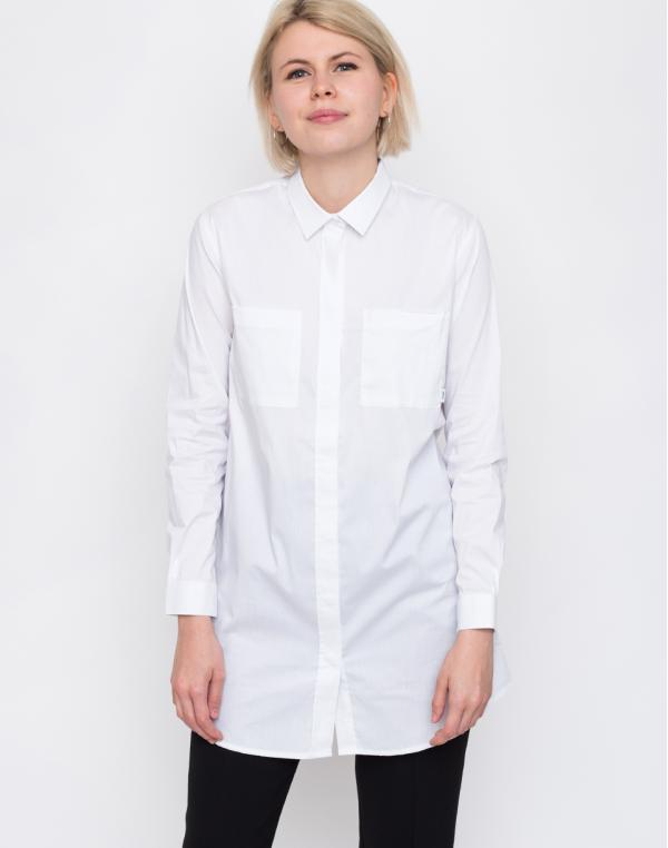 Makia Office Shirt White L