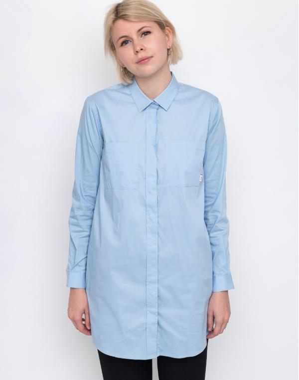 Makia Office Shirt Light Blue L