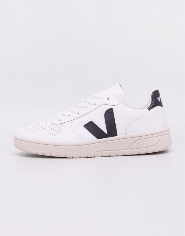 Veja V-10 Extra White Black 36