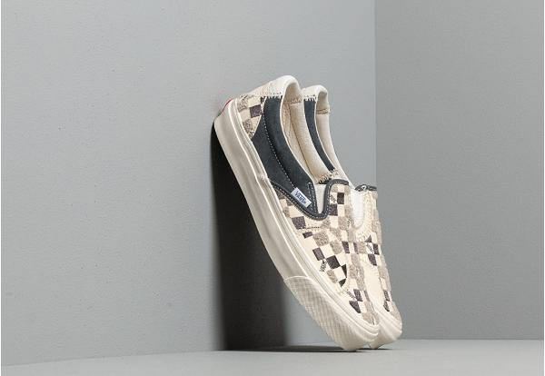 Vans Vault Classic Slip-On Bricolage LX (Embroidered Checker) Classic