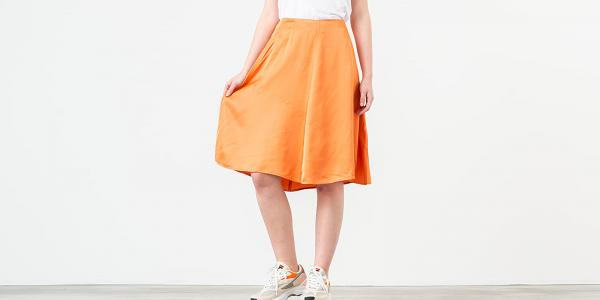 WOOD WOOD Rosemary Skirt Dusty Orange