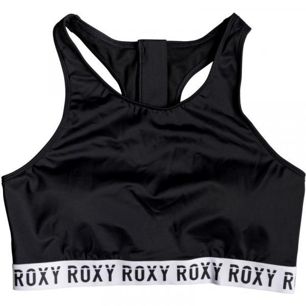 PLAVKY ROXY ROXY FITNESS FULL CROP TOP S - černá