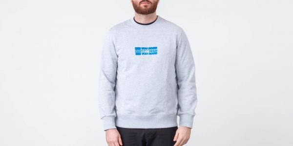 "FTSHP ""See You Soon"" Crewneck Grey"