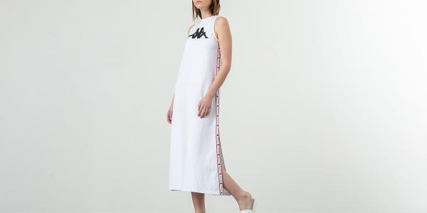Kappa Authentic Banoy Dress White/ Red/ Black