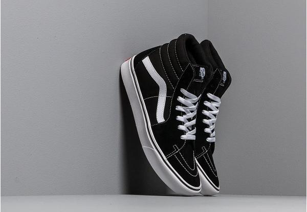 Vans ComfyCush SK8-Hi (Classic) Black/ True White