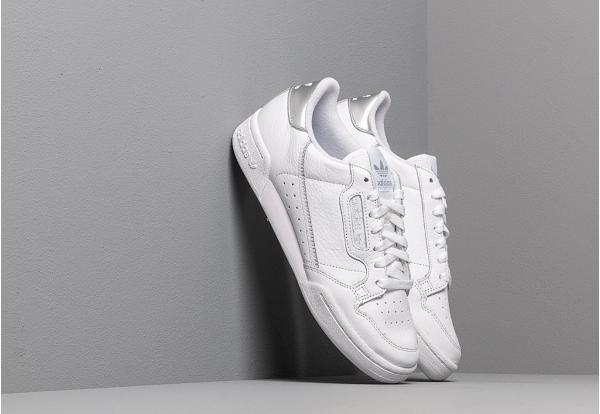 adidas Continental 80 W Ftw White/ Ftw White/ Silver Metalic