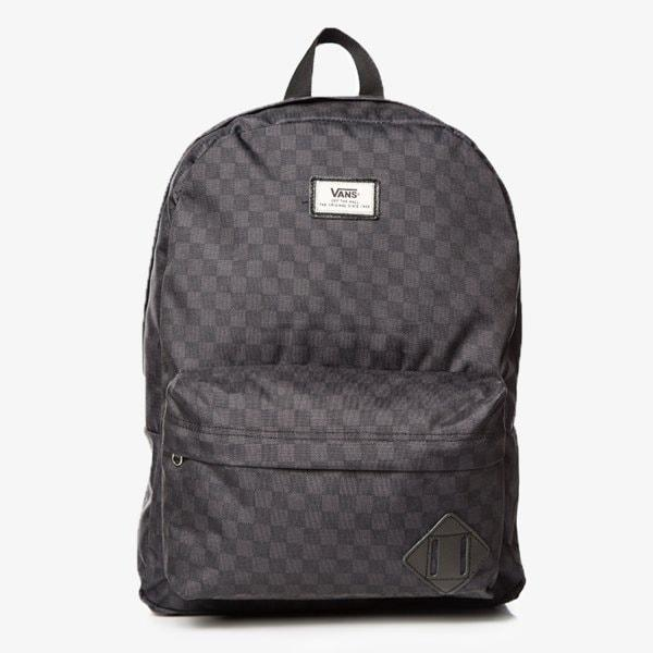 Vans Old Skool Ii Backpack Charcoal Černá EUR ONE SIZE