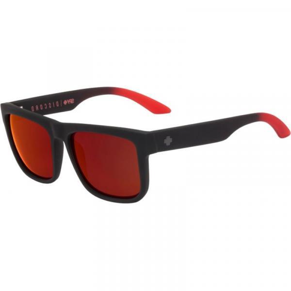 BRÝLE SPY Discord Soft Matte Black Red F - černá