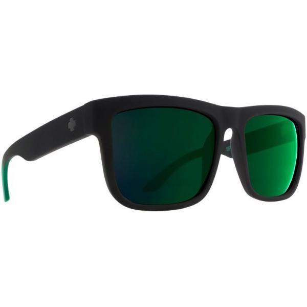 BRÝLE SPY Discord Soft Matte Black-Green - černá