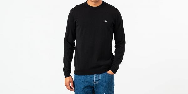 WOOD WOOD Kip Sweatshirt Black